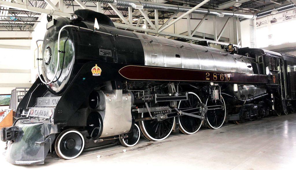 Royal Hudson 2860 Steam Locomotive
