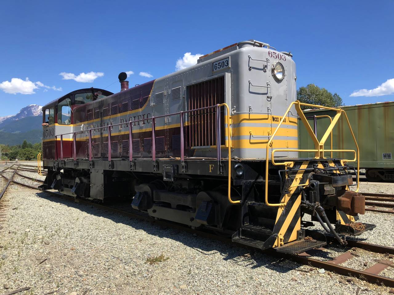 Canadian Pacific 6503 S3 Switcher